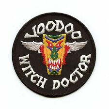 RCAF CAF Canadian CF-101 Voodoo Witch Doctor Squadron Crest Patch