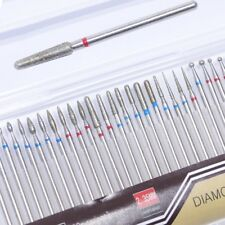 30pcs Steel Diamond Milling Drill Electric Nail Files Carbide Polisher Cutter