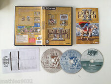 Empire earth II 2 Gold avec extension Art of supremacy RTS/STR/Stratégie PC FR