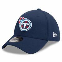 Tennessee Titans New Era NFL Team 39THIRTY Flex Fit Curve Hat - Navy