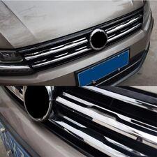 Griglia anteriore VW Tiguan Mk2 2 pezzi cromati acciaio inox 2016 2020 trim inox