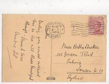 Miss Betty Strebler Gordon Road Ealing London W13 1924  850a