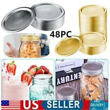 1-48x Regular Mouth Canning Jar Lids Brand New( 1pc Jar Lids, Da.70mm&86mm) US