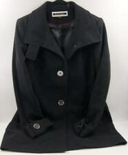 Kristen Blake Black Wool Blend Coat Women's Sz 12 M