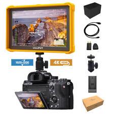 Yellow Lilliput A7s-2 7 Inch 1920x1200 DSLR Camera Field Monitor 4k HDMI Input