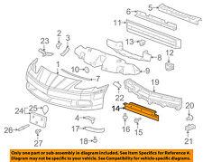 GM OEM Front Bumper-Front Deflector 21992641