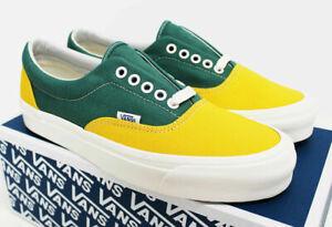 NIB VANS Men's OG Era LX Old-Gold Fir Green Canvas Sz 10.5 Low Sneakers Shoes