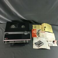 Sony TC-222-A Reel to Reel Tape Deck Recorder With Manuals As Is