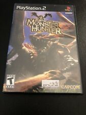 Playstation 2 (PS2) Monster Hunter w/ Manual