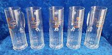Set Of 5 Vintage Radeberger Beer Mugs (237)