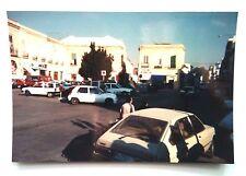 Vintage 90s Photo Family Vacation Chipiona Spain Downtown Tourist Trap Turismo
