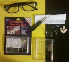 One Eyeglass Repair Kit-Screws, Screwdriver, Magnifier,...In a Storage Case