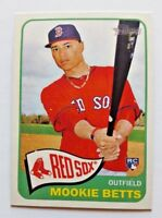 2014 TOPPS HERITAGE HI# MOOKIE BETTS RC ROOKIE #H558 BOSTON RED SOX + BONUS