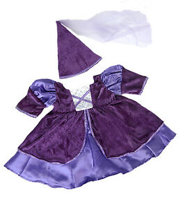 """Medieval Princess Costume Teddy Bear Clothes Fits Most 14""""-18"""" Build-a-bear and"""