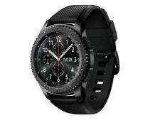 Samsung Gear S3 Frontier Cassa 46mm Nera, Cinturino Nero Smartwatch - Grigio Siderale (SM-R760NDAAROM)