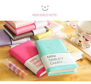 Smile Mini Diary Travel Diary Notebook  Mini Diaries Journal