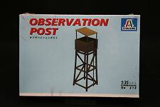 XZ170 ITALERI 1/35 maquette 418 Observation Post Tour observation 1997 Ptitoys