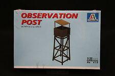 XZ168 ITALERI 1/35 maquette 418 Observation Post Tour observation 1997 Ptitoys