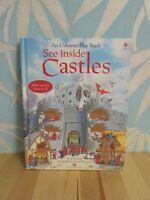 See Inside: Castles by Usborne Publishing Ltd (Hardback, 2005)