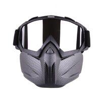Men Women Ski Snowboard Goggles Snow Winter Windproof Sunglasses with Face Mask