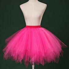 TUTU Skirt Petticoat Cosplay Pettiskirt Chemise Crinoline Fluffy Cosplay Elegant