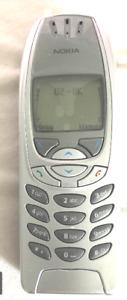 NOKIA 6310I - (REFURBISHED) - SILVER - MOBILE PHONE – 3 MTH GUARANTEE