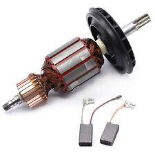 Motor Anker Rotor Läufer + Kohle f Bosch GBH 5-40 DE,GBH 5-40 DCE,GSH5E,GSH 5 CE