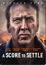 *Brand New Sealed* A Score To Settle [2019 Dvd] With Cover