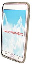 SILICONE TPU COVER CASE SMOKE PER Samsung i9220 Galaxy Note + Proteggi Schermo