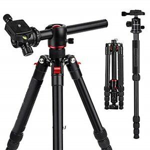 TM2515T DSLR Camera Tripod Professional Horizontal Aluminum for Canon Nikon DSLR