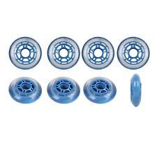 Roller Hockey Wheels HILO SET 68mm / 76mm 78a Soft Blue Indoor Inline Skate