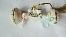 Lenox Baby's First Christmas Rattle Ornament