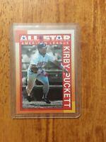 1990 Topps Kirby Puckett Minnesota Twins #391 Baseball Card