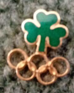 Ireland NOC Olympic Pin Rings Small