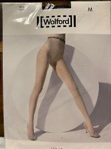 Wolford Lena Black Tights NWT Size Medium~reg. 58$