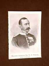 Maggiore Generale Sir William Penn Symons Ferito a morte a Glencoe 1843 – 1899