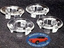 Ford Lincoln Mercury Clear Door Panel Lock Knob Pulls Grommet Ferrules 4pcs LI