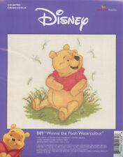 Winnie the Pooh Watercolour Cross Stitch Kit *NEW*