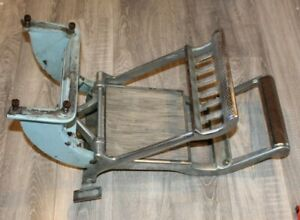 S.S. White Child's Dental Chair N°2, 1917 FOOT REST & ASSMEBLY