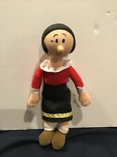 Olive Oil Doll w/ Plastic Head & Plush Body - 7.5� Tall - by King Features 1991