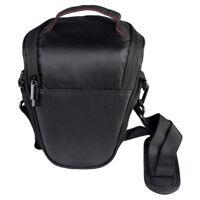 Zipper Triangle Digital DSLR SLR Camera Shoulder Case Bag for Nikon Canon Sony