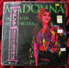 "MADONNA JAPAN VINYL ORIGINAL FACTORY SEALED RECORD DRESS YOU UP 12"" PROMO OBI LP"