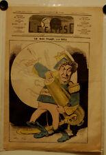 Caricature, Journal l'éclipse,actualité,Gill, 30 juin 1869