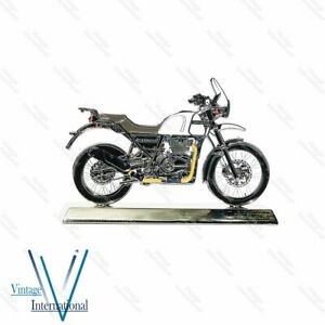 For Royal Enfield Himalayan 411 2d Scale Model White @UK