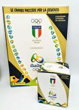 Stickers, albums et sets de cartes sportives olympiques