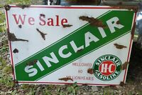 SINCLAIR sign advertising vintage Gasoline Gas and OIL