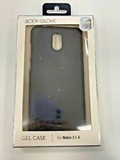 Body Glove Gel Case 4FT Drop Tested Case for Nokia 3.1 A - Black Openbox