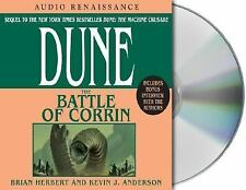 Dune: The Battle of Corrin 3 by Brian Herbert and Kevin J. Anderson (2004, CD, R