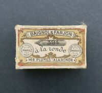 Boite plume BAIGNOL & FARJON A la Ronde 394 pen nibs box pennini 2