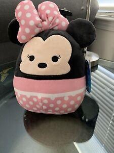 """Squishmallows Disney - Minnie Mouse 5"""" Plush - Disney Rare - Kellytoy"""